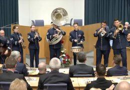 Feierstunde für US-Soldaten im rheinland-pfälzischen Landtag
