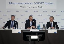 Innovationen und Investitionen bei Schott