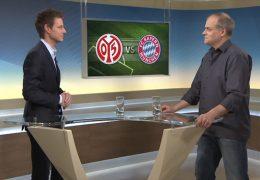 Studiogespräch über den aktuellen Spieltag der Fußball-Bundesliga