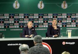 Eintracht Frankfurt und 1. FC Kaiserslautern treten im DFB-Pokal an