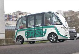"Wiesbaden testet autonomen Bus ""Wilma"""