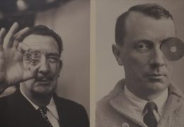 Salvador Dalí trifft Hans Arp im Museum Rolandseck