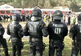 Großübung der Polizei