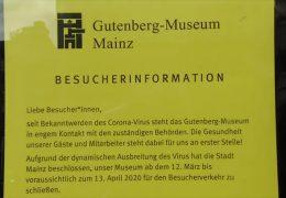 Mainz: Corona im Schatten des Doms