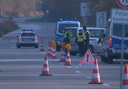 Strenge Kontrollen  an den Grenzen von Rheinland-Pfalz