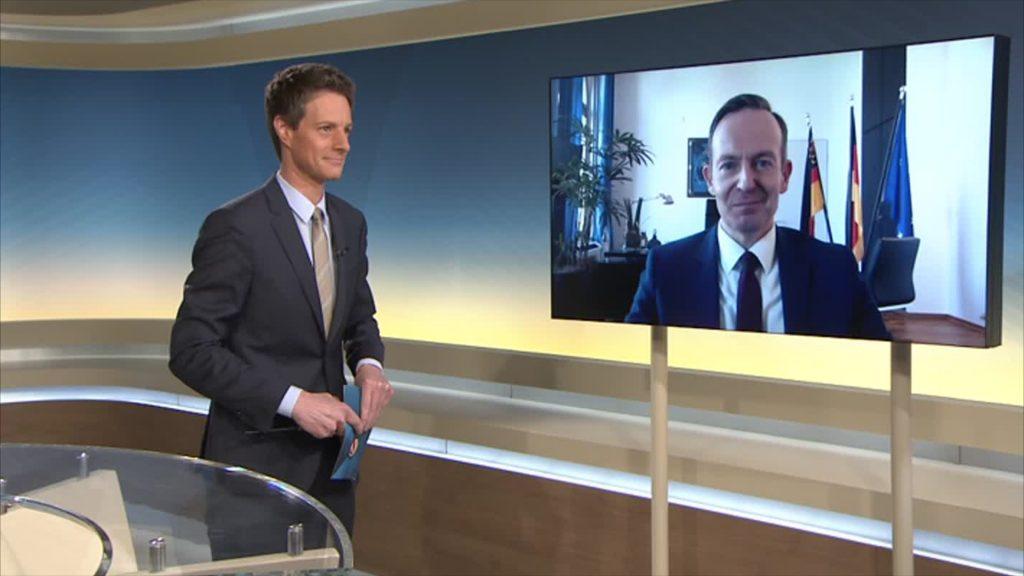 Minister Volker Wissing im Videointerview