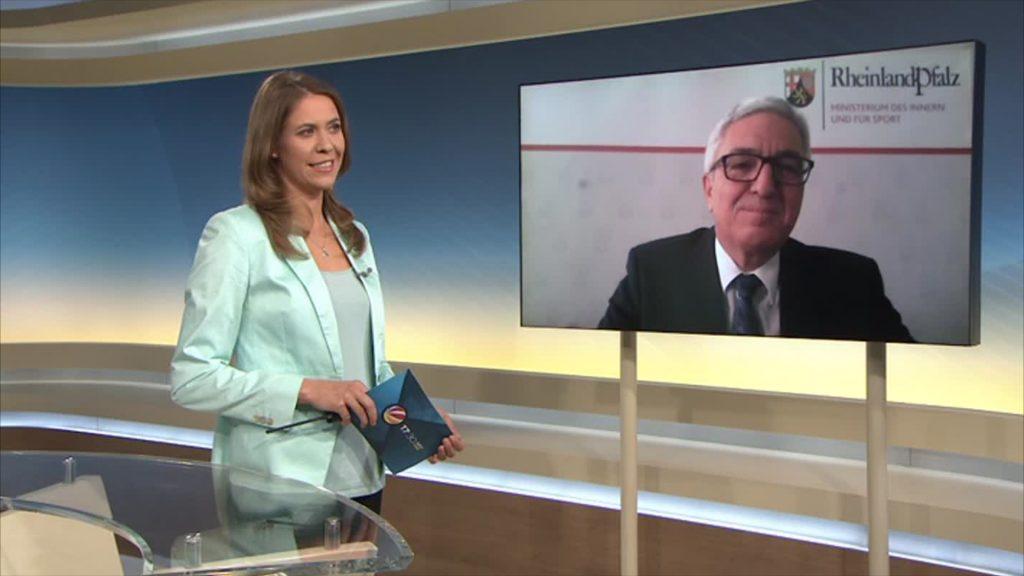 Im Videointerview: Innenminister Roger Lewentz