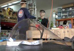 Schüler aus Oppenheim produziert Schutzvisiere