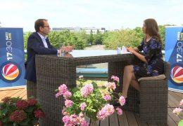 Das 17:30-Sommerinterview – zu Gast auf der Dachterrasse: Mathias Wagner