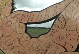 Kunst unter freiem Himmel in Bingen