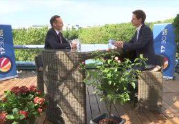 Das 17:30-Sommerinterview – zu Gast auf der Dachterrasse: Volker Wissing