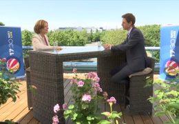 Das 17:30-Sommerinterview – zu Gast auf der Dachterrasse: Malu Dreyer