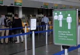 Flughafenbetrieb in Corona-Zeiten