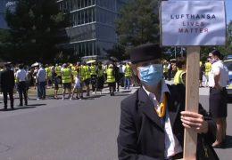 Vor der Hauptversammlung: Lufthansa-Mitarbeiter sind besorgt