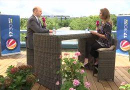 Das 17:30-Sommerinterview – zu Gast auf der Dachterrasse: Robert Lambrou