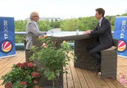Das 17:30-Sommerinterview – zu Gast auf der Dachterrasse: Michael Frisch