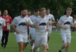 FSV Frankfurt trainiert erstmals wieder vor seinen Fans