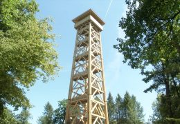 Richtfest am neuen Goetheturm