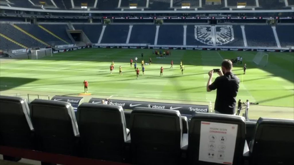 Trainingsauftakt bei Eintracht Frankfurt