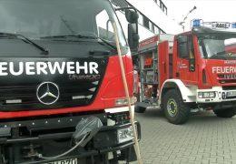 Speziallöschfahrzeuge für die Waldbrandbekämpfung