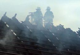 Historische Hofanlage in Bad Homburg durch Feuer teilweise zerstört