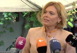Agrarministerkonferenz in Koblenz – im Interview: Julia Klöckner
