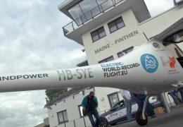Weltrekordversuch mit Elektro-Kleinflugzeug