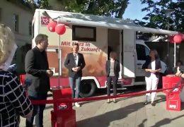 SPD Rheinland-Pfalz: Wahlkampf mit dem mobilen Quartierbüro