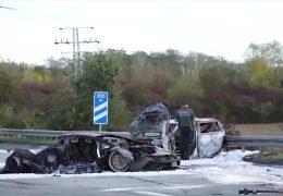 Raser-Unfall auf der A66: Haftbefehle wegen Mordes