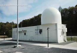 """""""GESTRA"""": Radar warnt vor Weltraumschrott"""