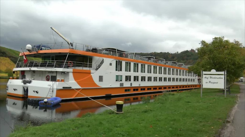 Kreuzfahrtschiff-Besatzung in Quarantäne