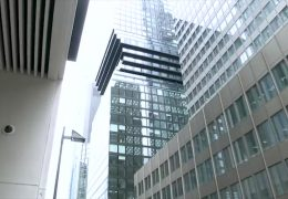 Im Finale des Internationalen Hochhauspreises: Der Omniturm in Frankfurt