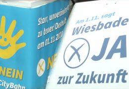 Bürgerentscheid zur Wiesbadener Citybahn