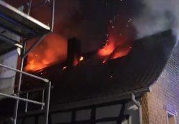 Brand in Groß-Zimmern