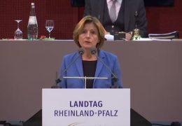 Regierungserklärung: Malu Dreyer informiert über Corona-Lage in Rheinland-Pfalz