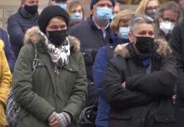 Trier gedenkt mit einer Schweigeminute den Opfern der Amokfahrt
