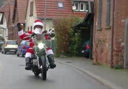 Unterwegs mit den Riding Santas