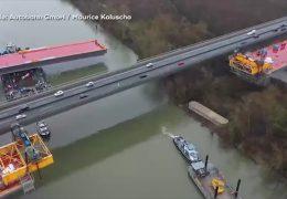 Schiersteiner Brücke: Das Riesenteil kommt!