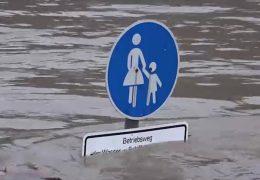 Land unter – Hochwasser in Hessen und Rheinland-Pfalz