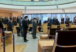 Hessischer Landtag gedenkt der Opfer von Hanau