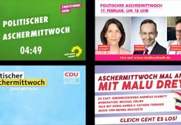 Politischer Aschermittwoch in Rheinland-Pfalz
