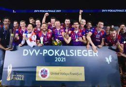 United Volleys holen den deutschen Vereins-Pokal nach Frankfurt