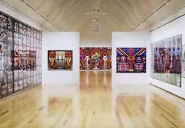 Gilbert & George in der Frankfurter Kunsthalle Schirn