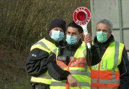 Gemeinsame deutsch-französische Polizeistreife
