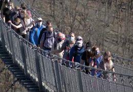 Geierlay-Brücke wird gesperrt