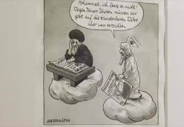 Riskante Mohammed-Karikaturen