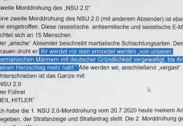 NSU 2.0-Drohmails – Tatverdächtiger in Berlin festgenommen