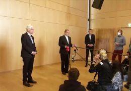 Georg Bätzing und Josef Schuster verurteilen Angriffe auf Israel