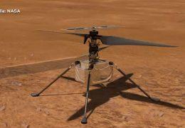 Zweibrücken auf dem Mars