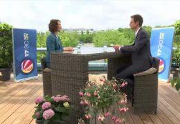Das 17:30-Sommerinterview – zu Gast auf der Dachterrasse: Anne Spiegel
